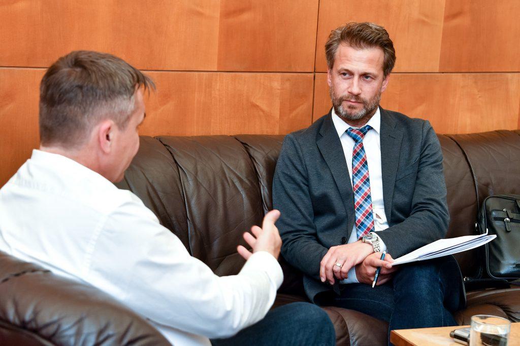 Petr Vokřál Oberbürgermeister von Brünn im Interview