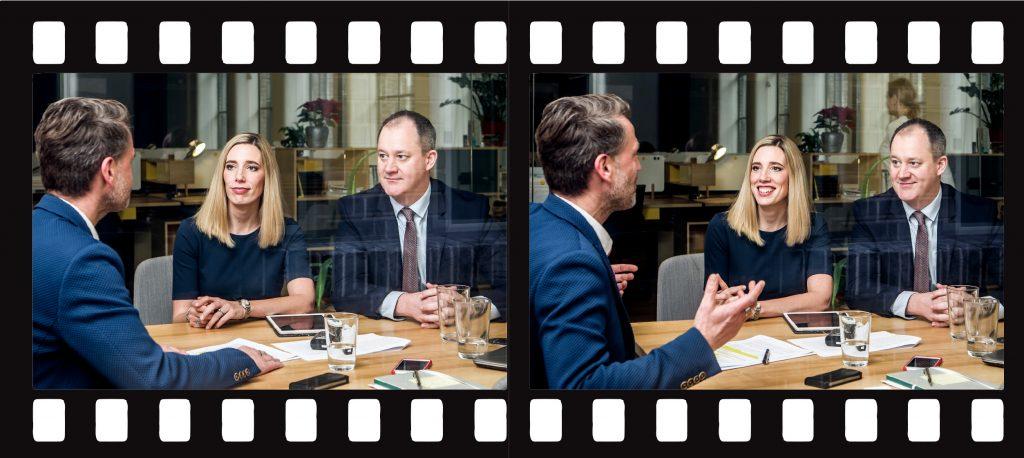 Plus Magazin Interview Chris und Clare Shields