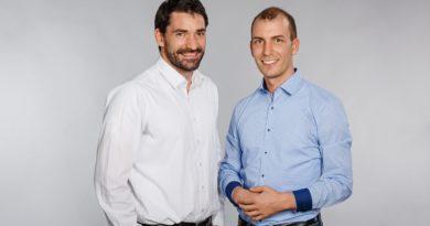 Psychologe Daniel Spitzer und Data Scientist Simon Tschürtz