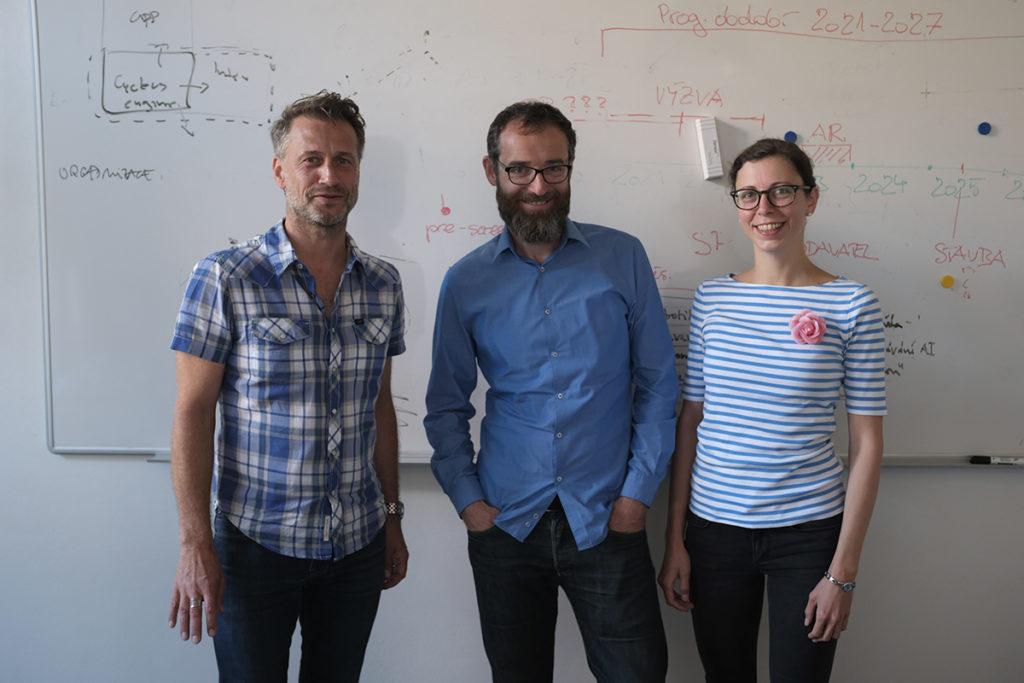 AI-Guru Pěchouček und Christian Rühmkorf