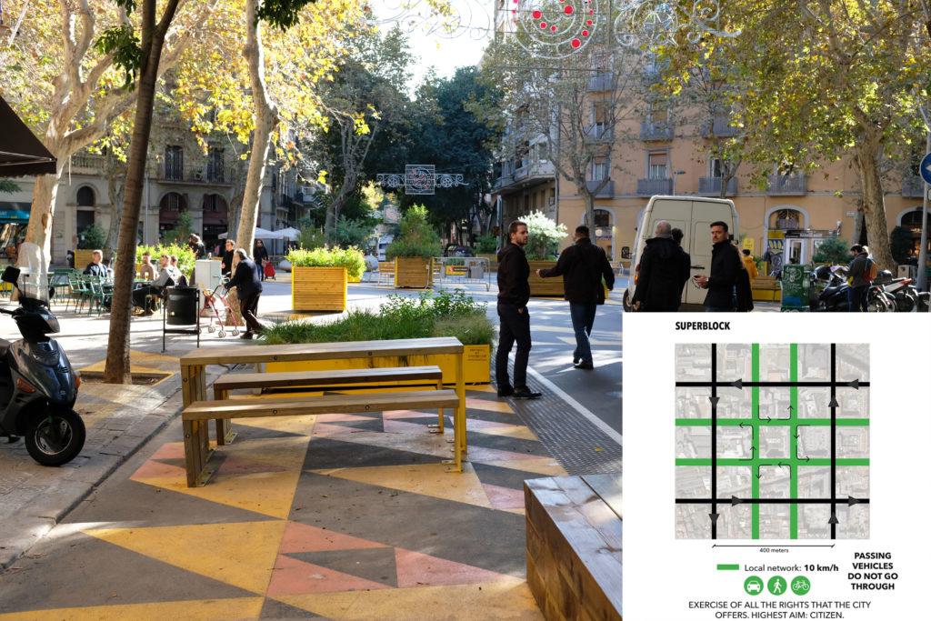 Superblocks Barcelona
